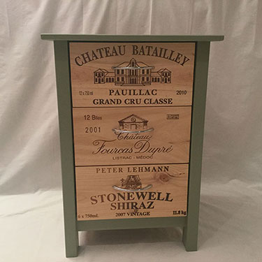 The Wine Crate Company Reclaimed Vintage Wine Port Champagne Crates